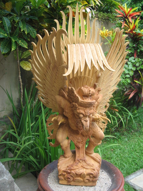 Hand Carved Large Garuda from Bali