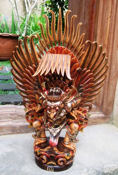 Hand Carved Garuda