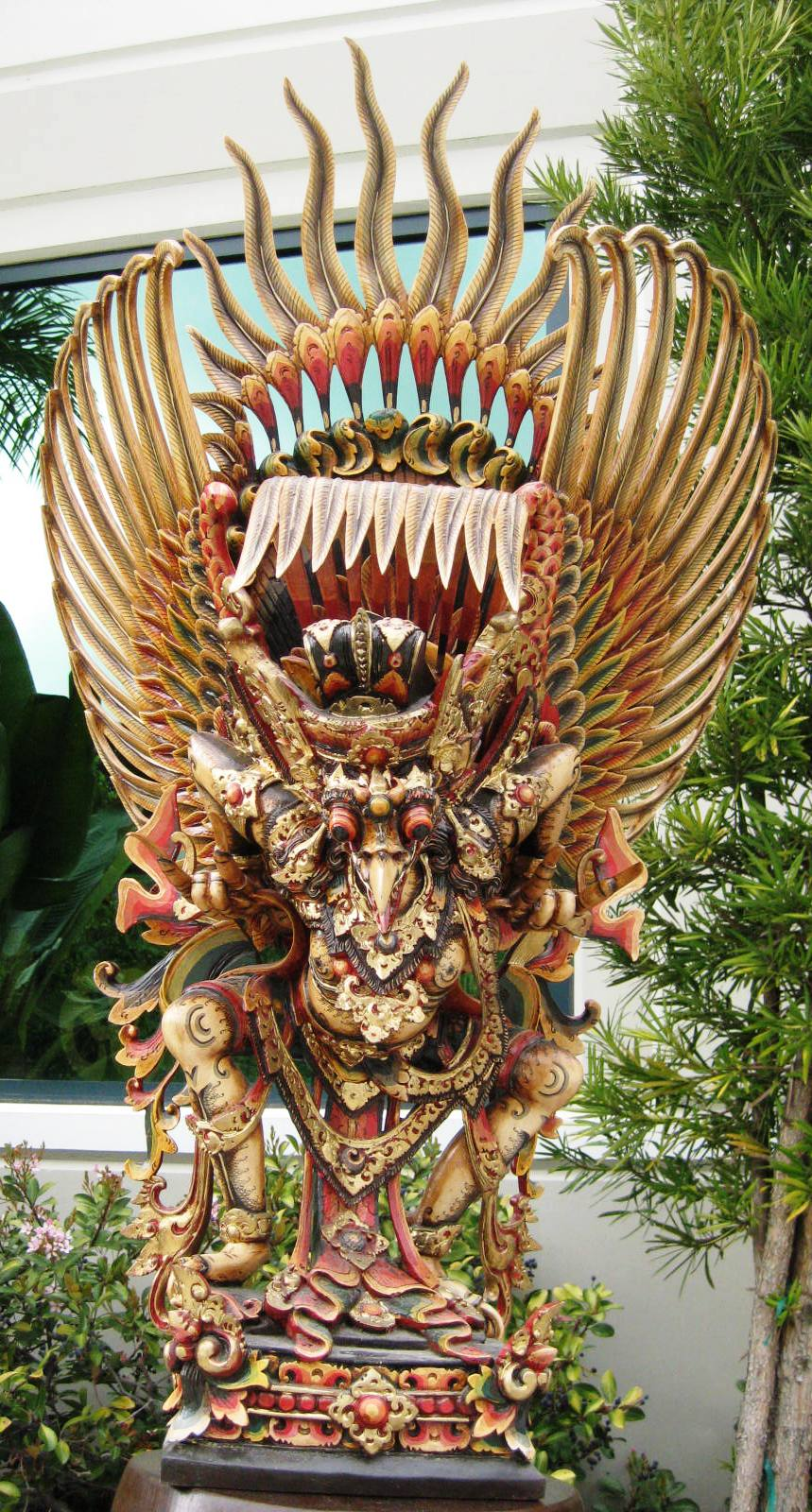 Large Multi Colored Garuda