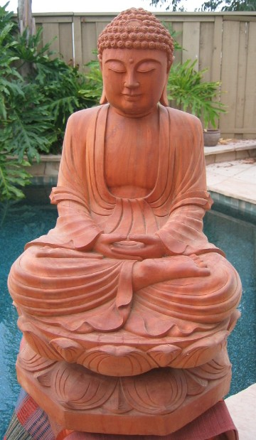 Seated Buddha on Lotus