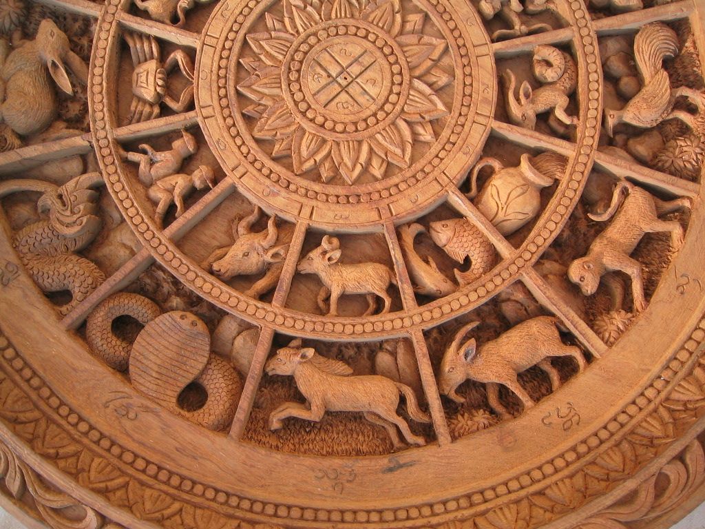 Round Zodiac Panel