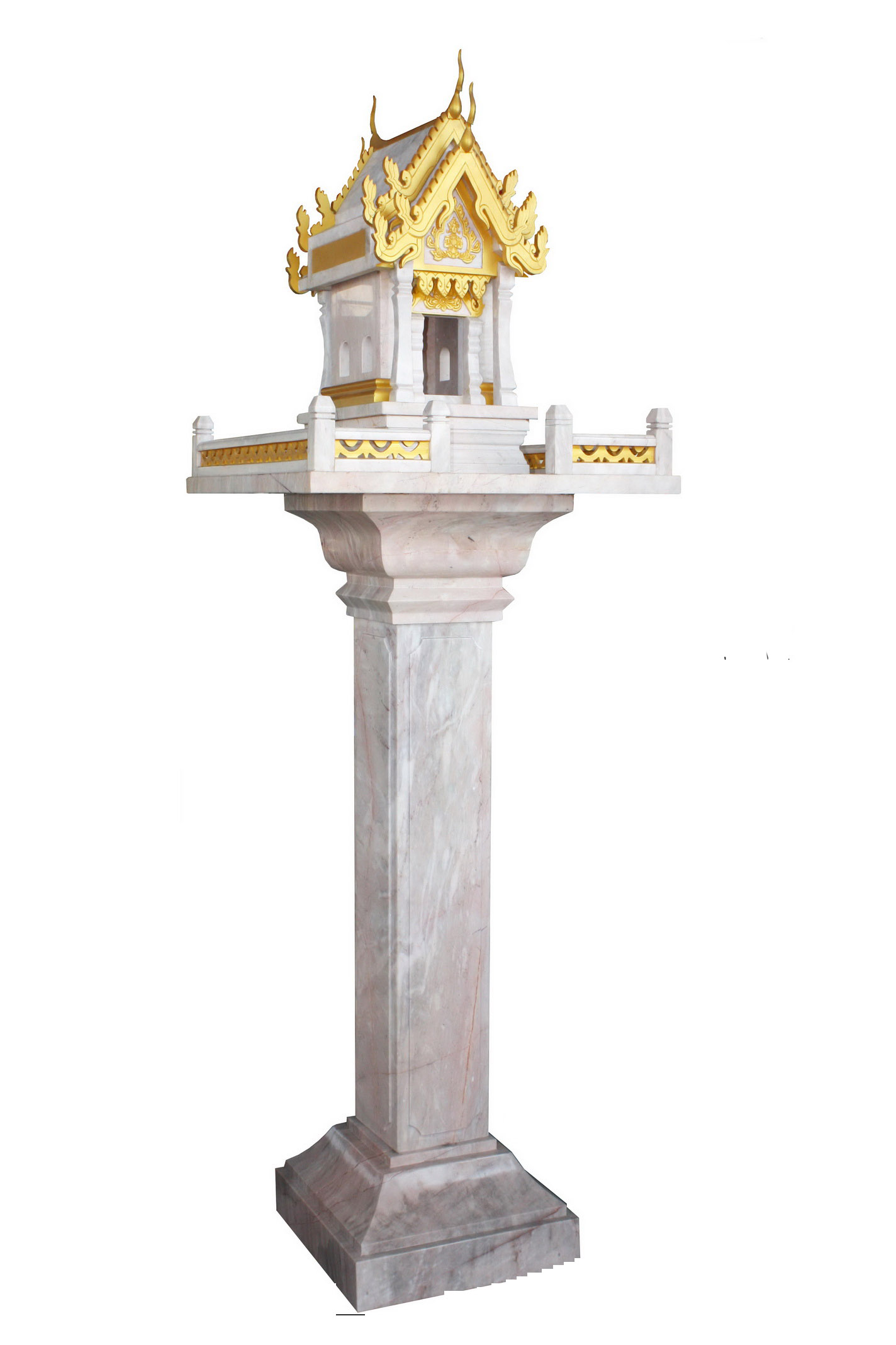 Thai Spirit House Marble