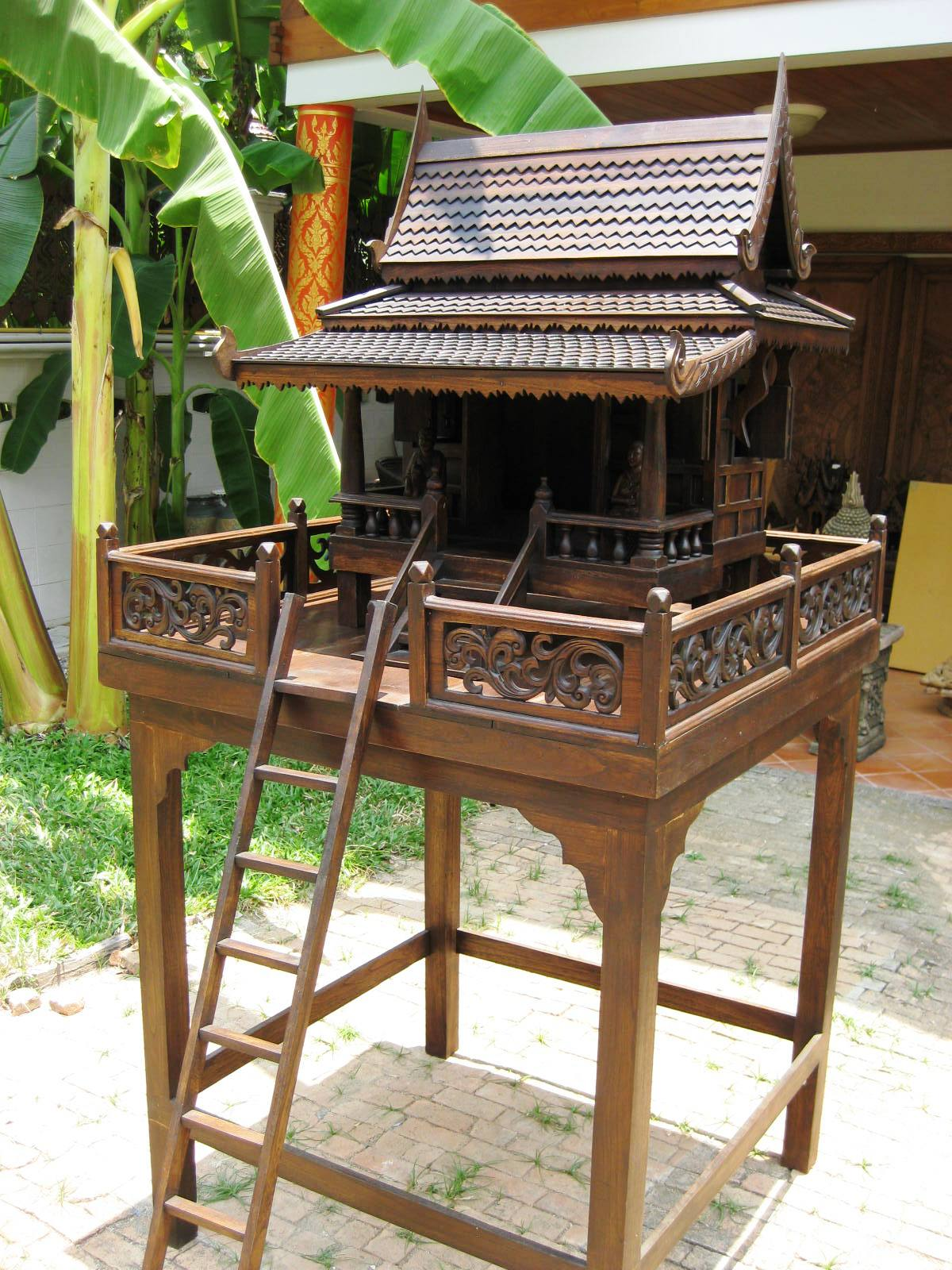Set of Thai Spirit House