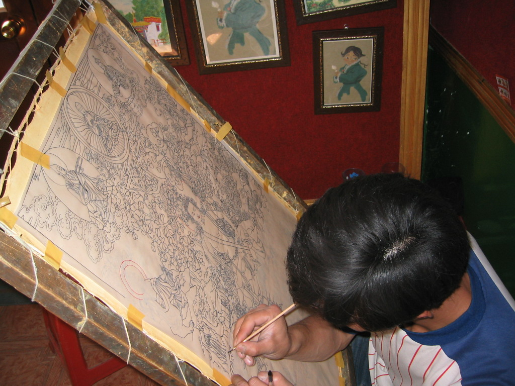 Tibetan Thangka Workshop