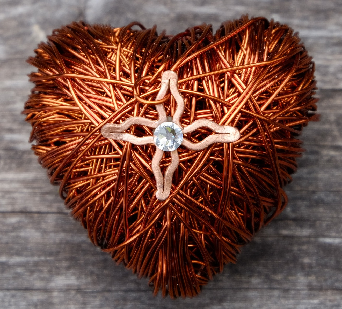 Nongnit's Treasures: Copper Wired Art