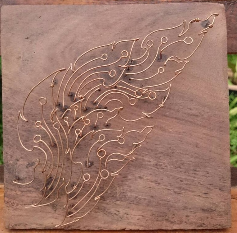 Kanok Thai Design Copper Wired Art